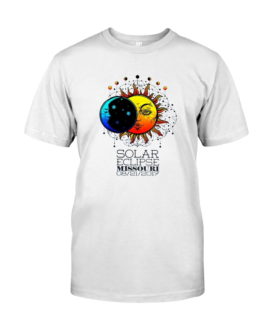 TOTAL SOLAR ECLIPSE MISSOURI TSHIRT 2017