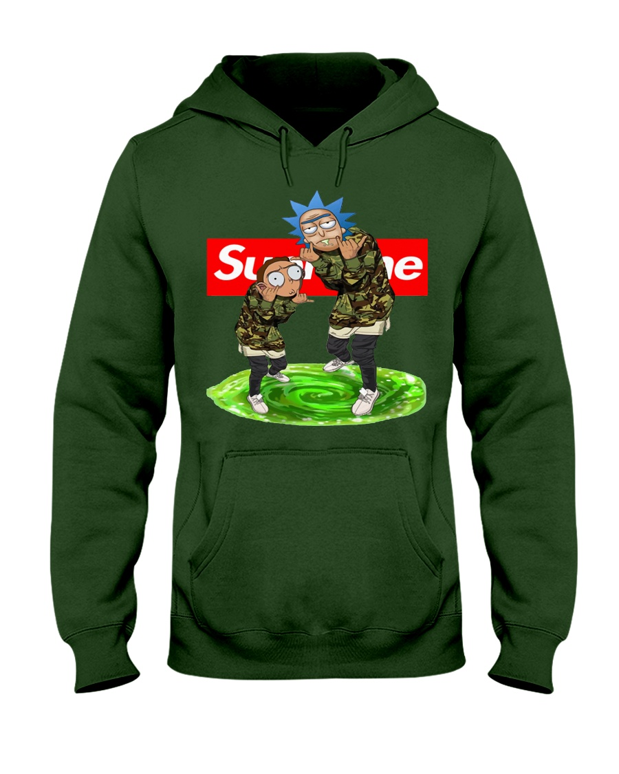1522da5a Supreme Style Rick And Morty Shirt & Sweater Rick And Morty Supreme Hoodie:  COOL RICK AND MORTY SUPREME HOODIE