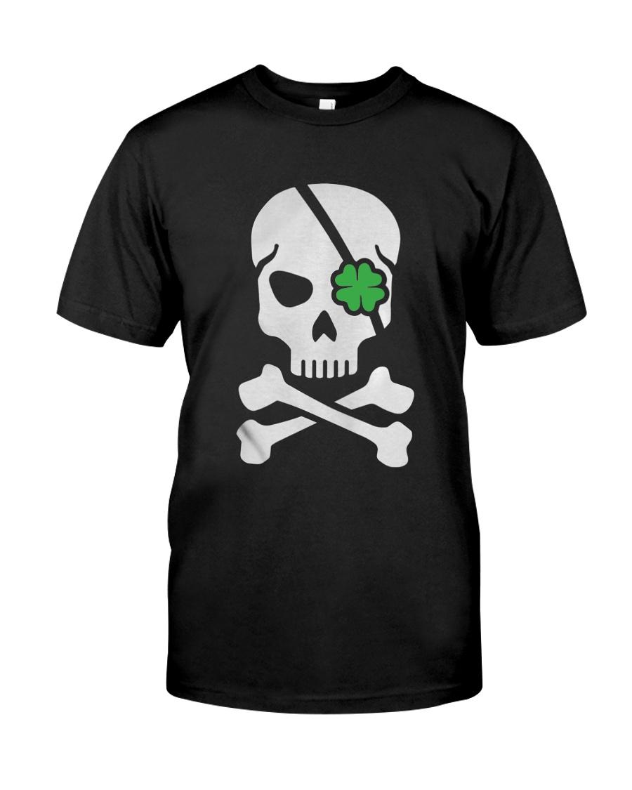 Skull Irish funny St Patrick s day Classic T Shirt