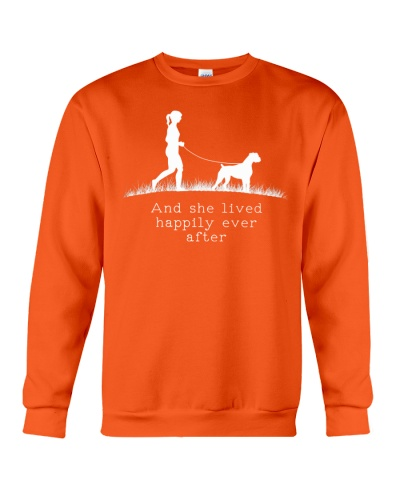 Boxer And She Lived Happily Ever After Dog Sweater