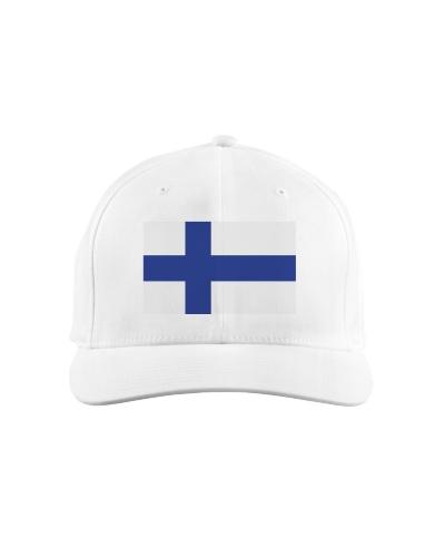 Black Finnish Flag TShirts