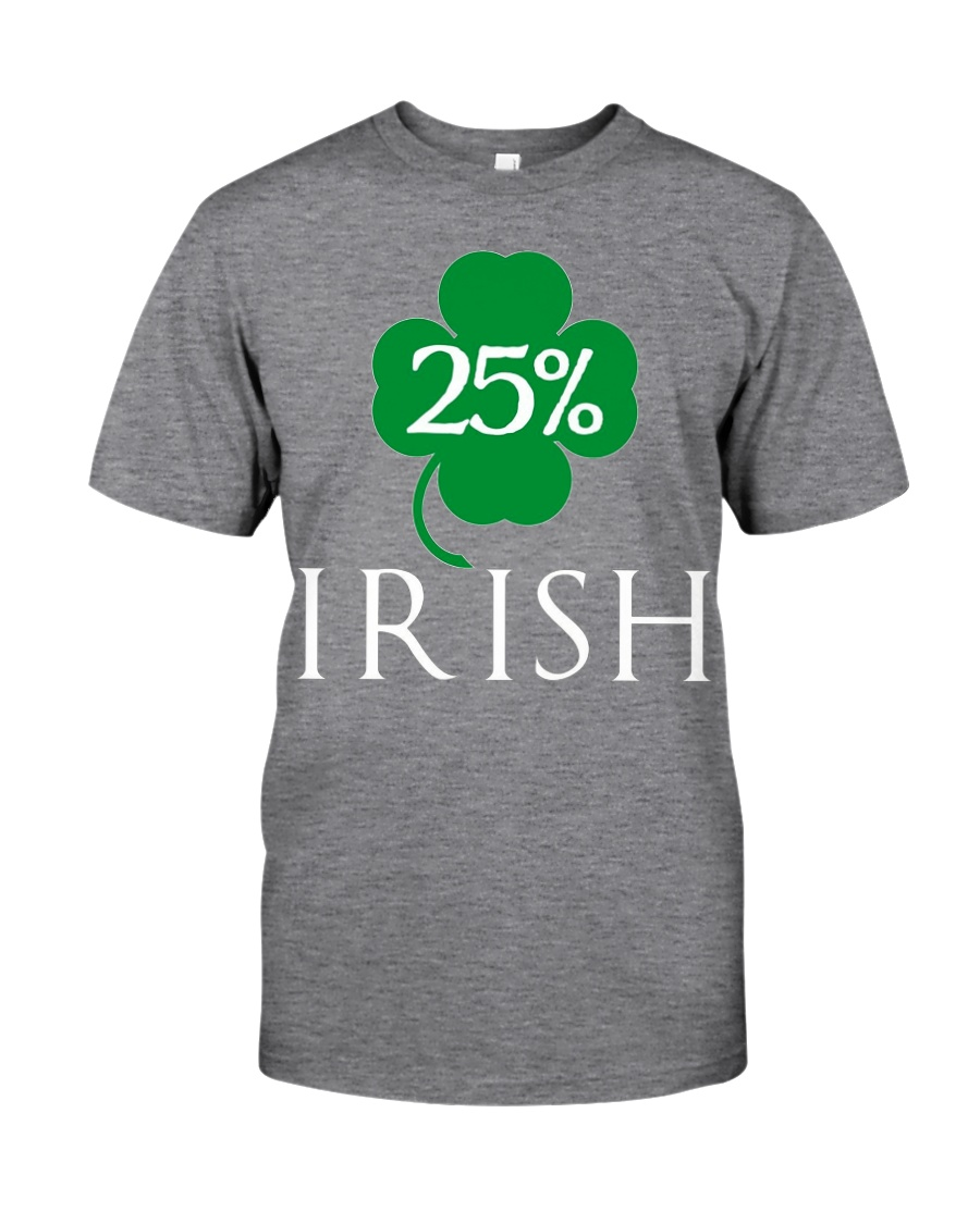 25 Irish St Patrick Day T Shirt 6sk Black Unisex Tshirt