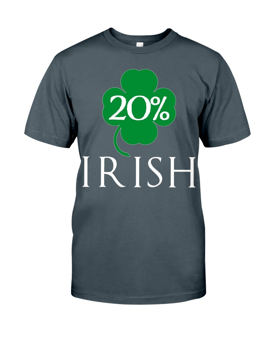 20 Irish St Patrick Day T Shirt Lr3 Black Unisex Tshirt