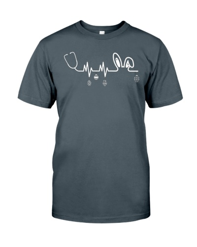 Heartbeat easter bunny t shirt nurse easter outfit womens gift nurse heartbeat t shirt awesome gift ideas negle Images