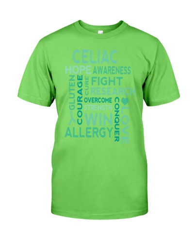 Celiac Disease Awareness slogan  T-Shirts