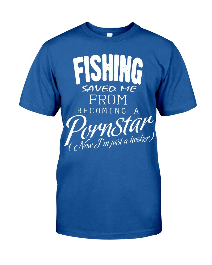Fishing Saved Me Unisex Tshirt