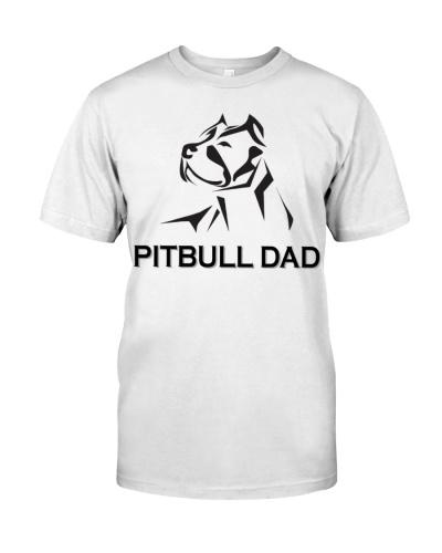 Pitbull Dad Funny T-shirt