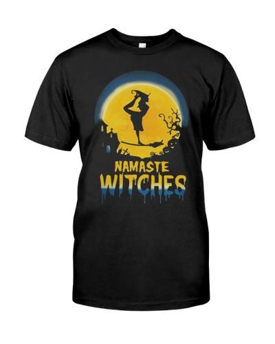 Dance Namaste Witches Halloween