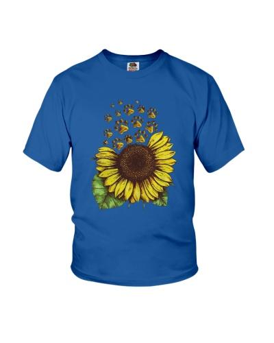Sunflower dog paws sunflower