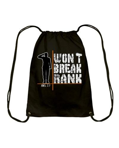 Won't Break Rank