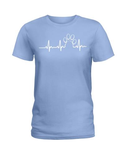 Heartbeat in Dogs Tshirt