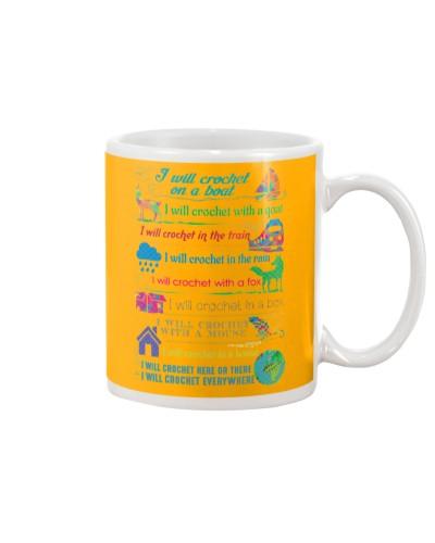 SPECIAL - CROCHET 11 Oz Coffee Mug