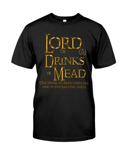 Lord of Drinks is Mead