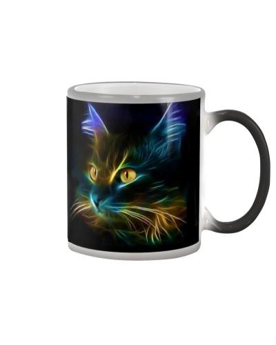 Fluorescent Cat