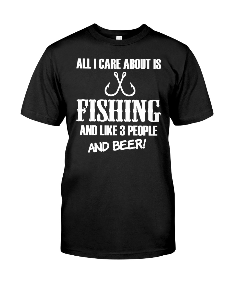 Fishing And Beer Unisex Tshirt