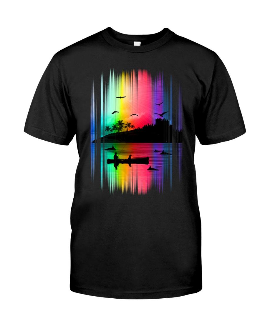 Fishing Colorfull Unisex Tshirt