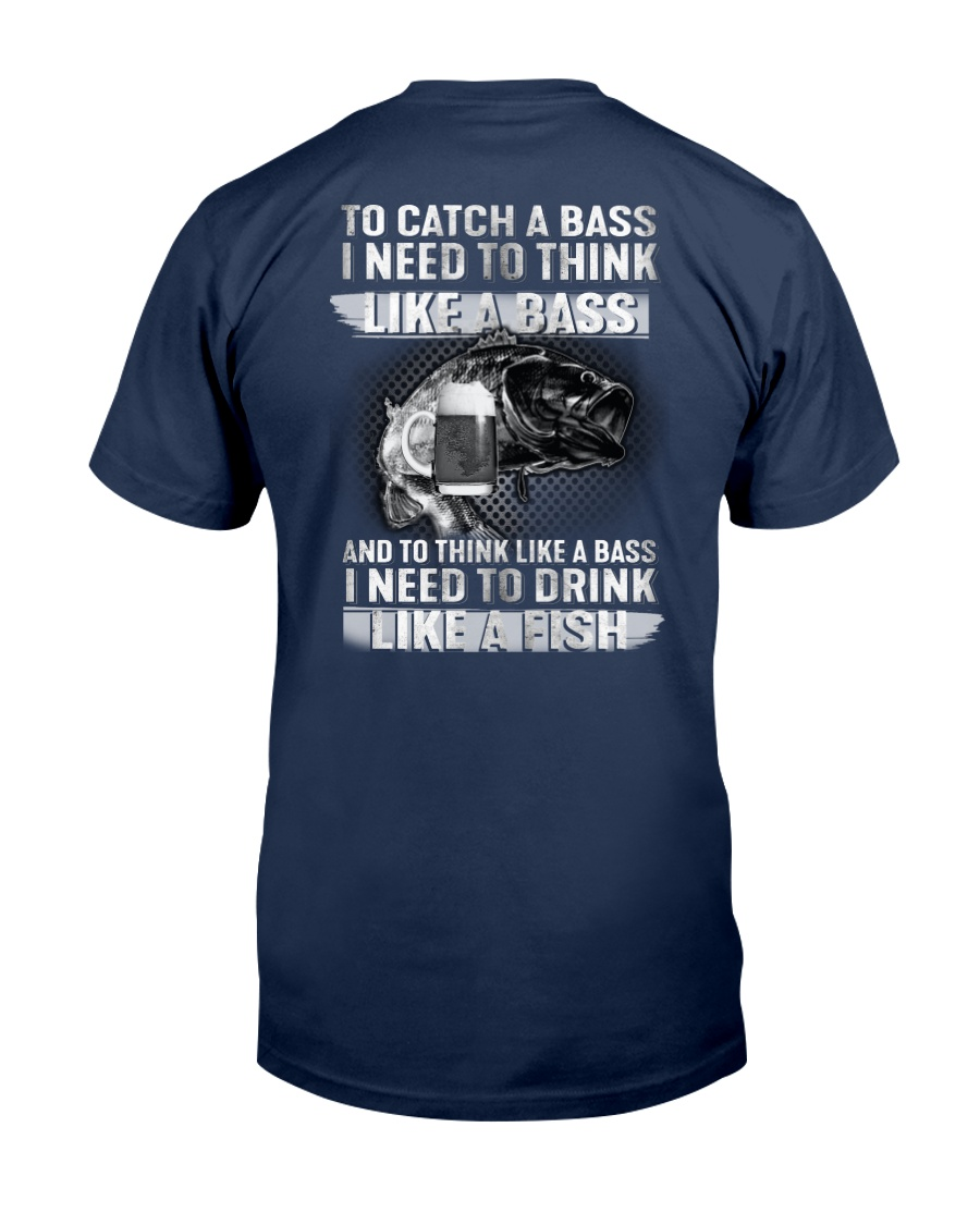 To Catch A Bass Unisex Tshirt