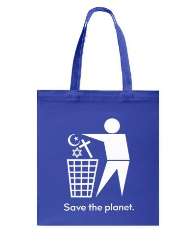 Save the planet - throw away religion