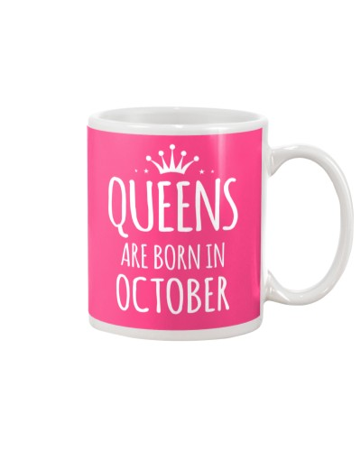 Queens Are Born As October
