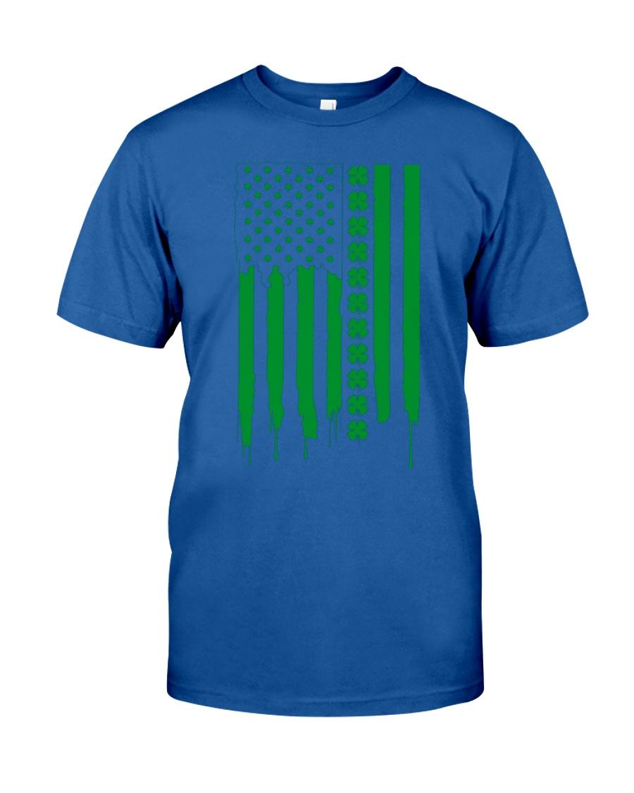St Patricks Day Irish American Flag Shirt Pattys D Unisex Tshirt