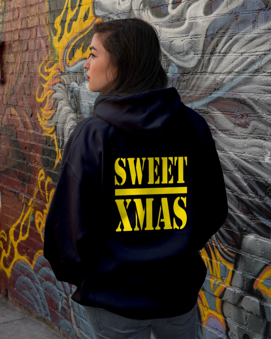 sweet xmas hoodie