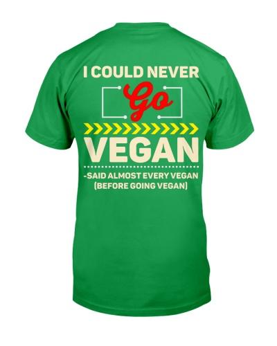 I Could Never Go Vegan