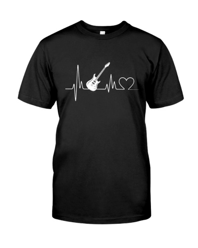 Bass Guitar Heartbeat T-Shirts