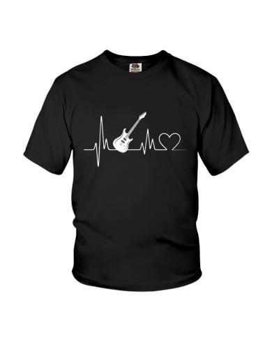 Bass Guitar Heartbeat T-Shirts