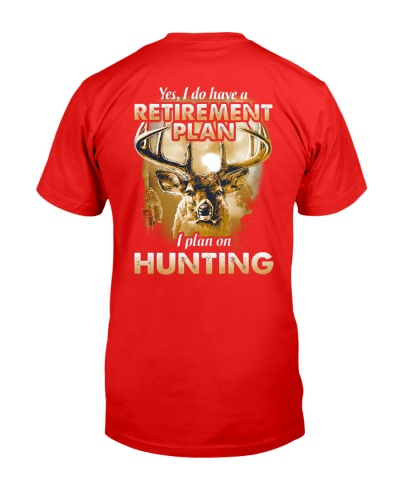 I PLAN ON HUNTING