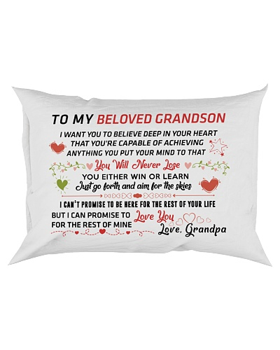 To My Beloved Grandson
