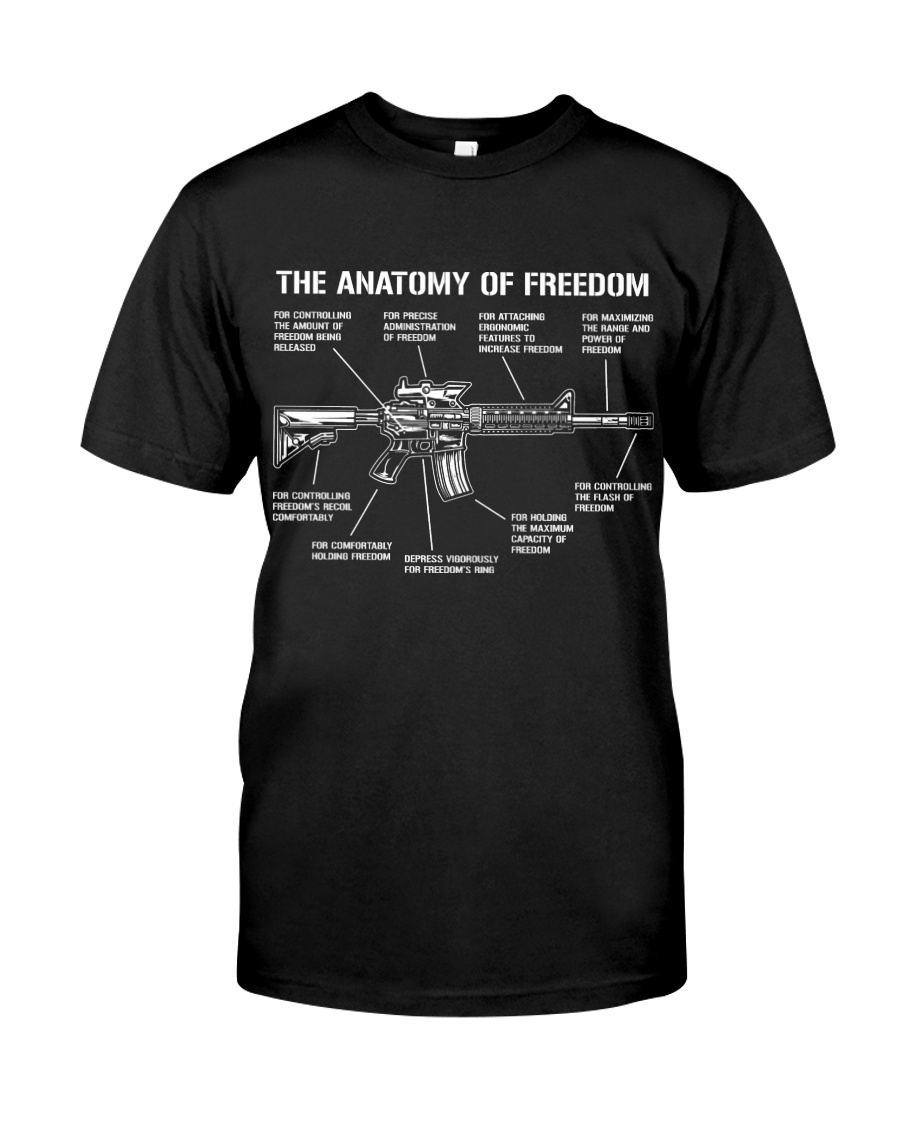 Assault Rifle Gun Anatomy Freedom AR-15 M4 AR 15