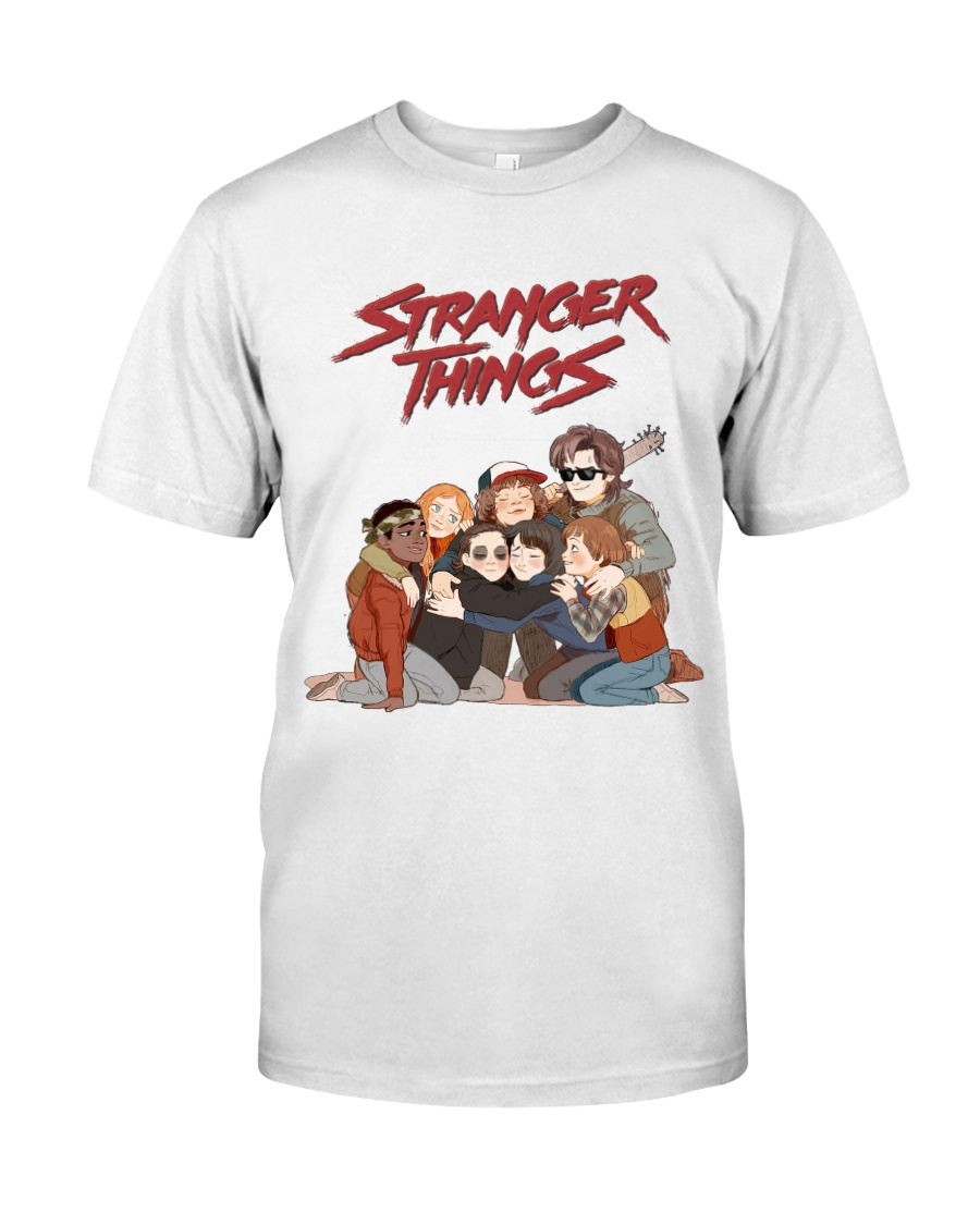 stranger things t shirt limited edition. Black Bedroom Furniture Sets. Home Design Ideas