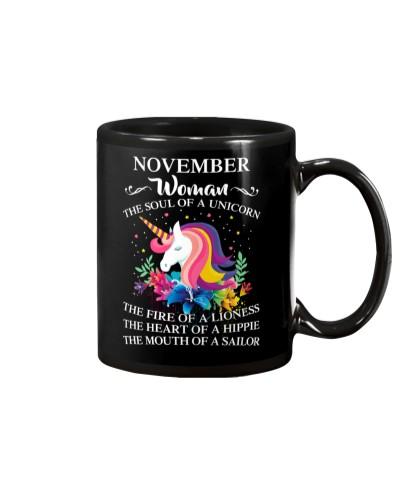 Unicorn Queen Are born in november