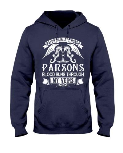 PARSONS - Blood Name Shirts