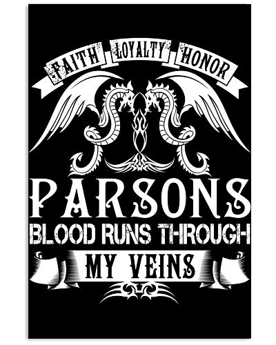 PARSONS - Blood Name Shirts