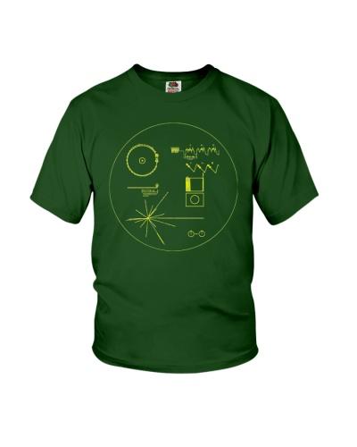 Nasa Voyager Golden Record Shirt Science Tee