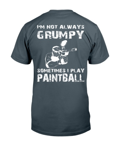 SOMETIMES I PLAY PAINTBALL
