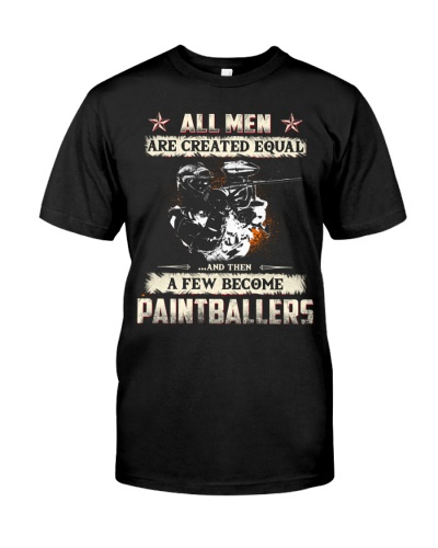 ALL MEN PAINTBALLERS