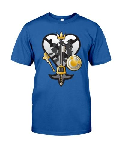 Kingdom hearts Logo 3 T Shirt Hoodie Shirts