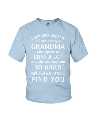 Crazy Grandma -  Slap So Hard- White