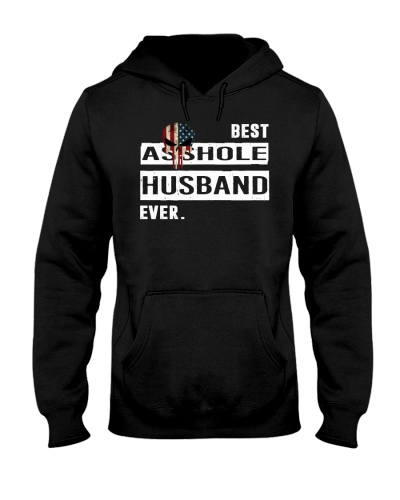 BEST A-SSHOLE HUSBAND EVER Funny Hoodie