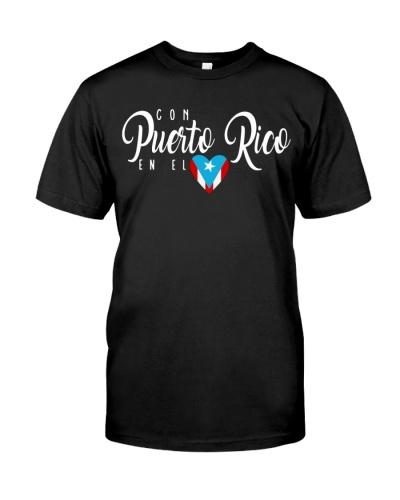 Con Puerto Rico en el corazon