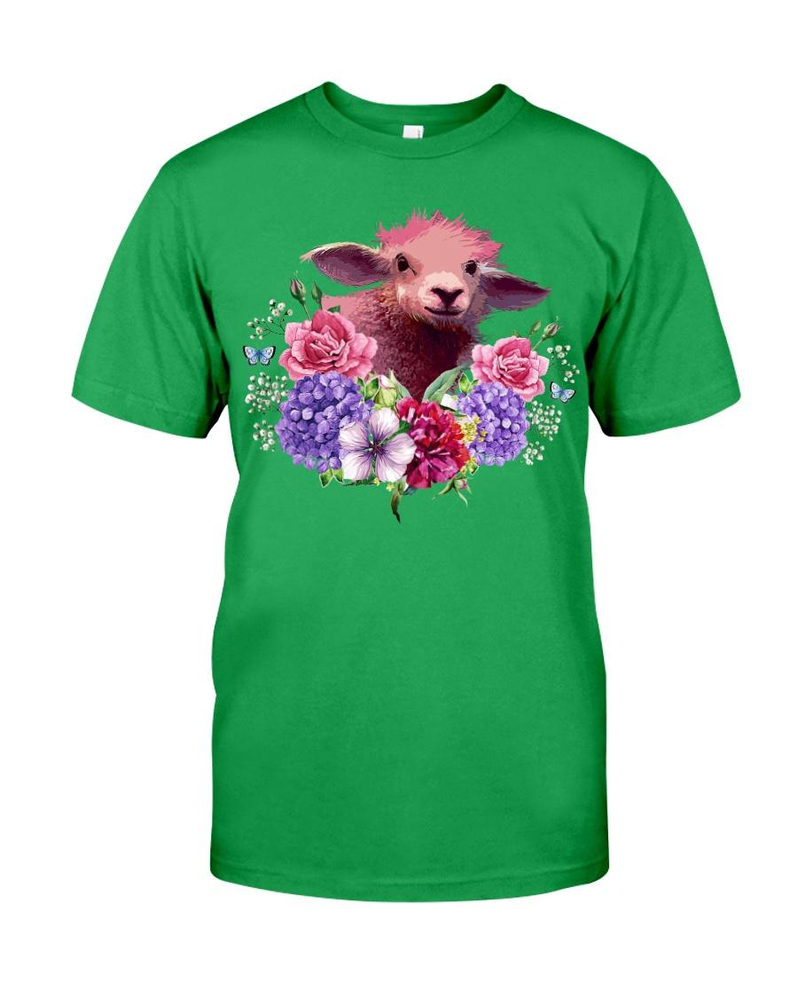 Sheep Print T-shirt Unisex Tshirt