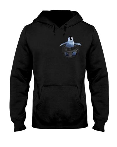 Penguin in pocket