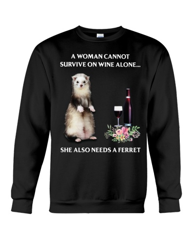 She also needs a Ferret