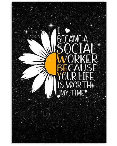 I BECAM A SOCIAL WRORKER