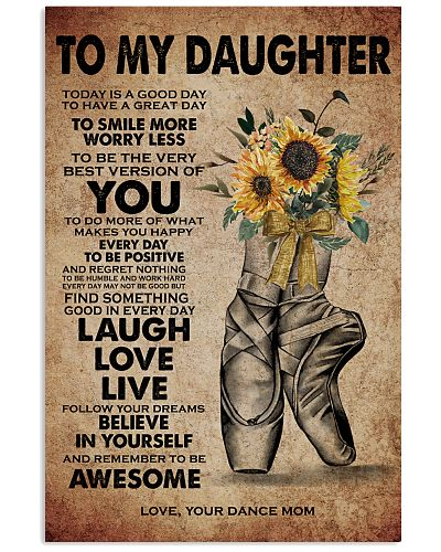 To Daughter - Dance Mom