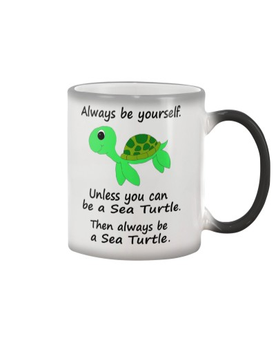 BE A SEA TURTLE