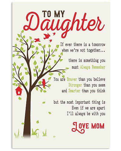 To My Daughter - Mother's Day