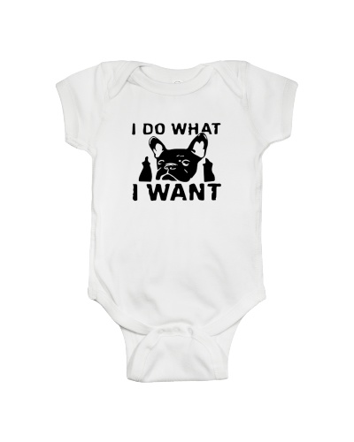 Frenchie I do what i want T Shirt